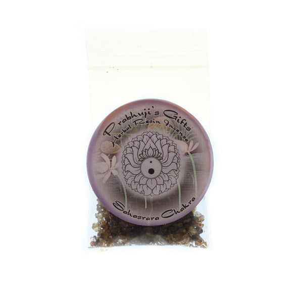 Sample Resin Incense Crown Chakra Sahasrara - Enlightenment