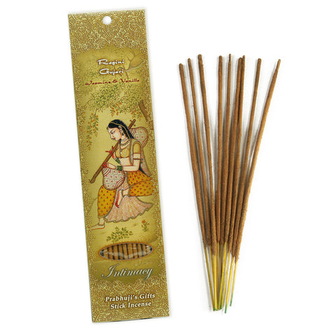 Incense Sticks Ragini Gujari - Jasmine and Vanilla - Intimacy