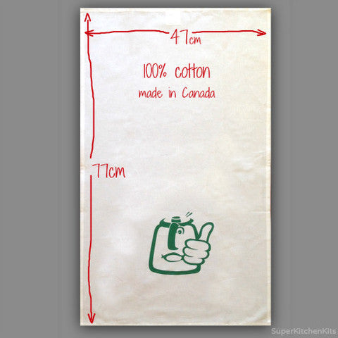 Tea Towel TM31 Design - By Super Kitchen Machine
