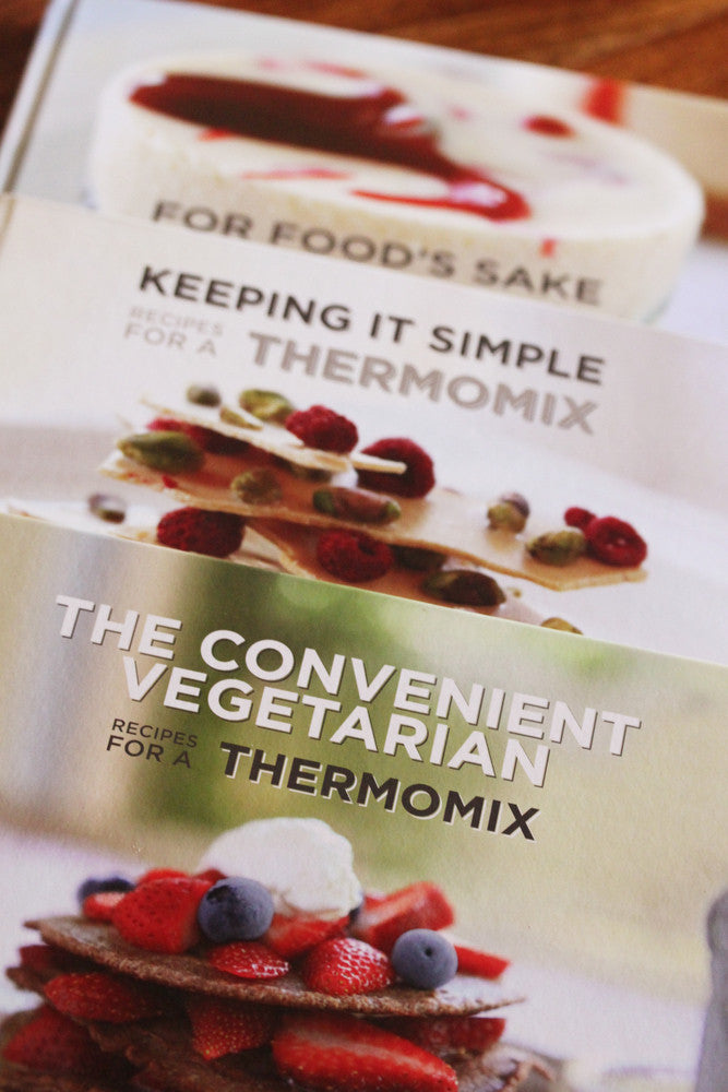 Tenina's Thermomix Cookbook Bundle - The Trilogy