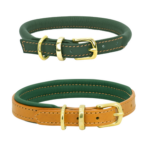 Autumn Winter D&H LEATHER COLLAR