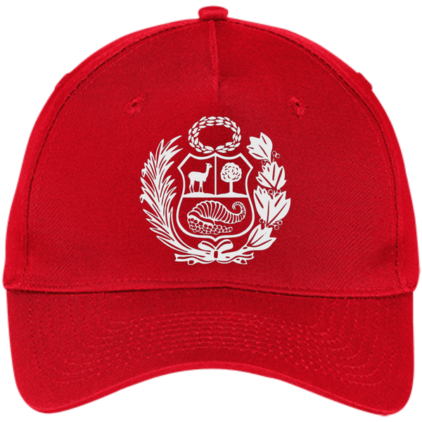 Gorro BORDADO Escudo Peruano regulable con velcro