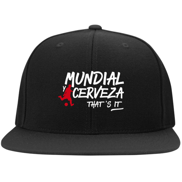 2018 Mundial y Cerveza That's It - Gorro Snapback BORDADO