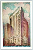 Milwaukee Wisconsin~Hotel Schroeder~Artist Conception~1940s Lumitone Postcard | Refried Jeans Postcards