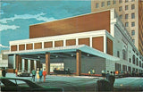 Toledo Ohio~Artist Conception: Commodore Perry Motor Inn 1968 | Refried Jeans Postcards