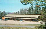 Moran Wyoming~Dave And Judie Heigesons Togwotee Mountain Lodge~1960's Postcard | Refried Jeans Postcards