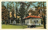 Poland Maine~Vintage Car Touring Poland Mineral Spring Bottling House~1920s | Refried Jeans Postcards
