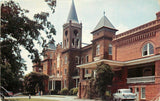 Spartanburg South Carolina~Converse College~Administration Building~1950s Car | Refried Jeans Postcards