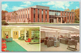 Newington CT~Inside & Out~American Radio Relay League~Desk Clerk~Equpment~1960s | Refried Jeans Postcards