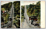 Mauch Chunk PA Switchback Railway~Mount Pisgah & Mt Jefferson Incline Plane~1906