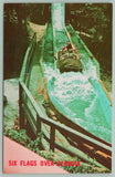 Atlanta GA~Six Flags Over Georgia Amusement Park~Log Jamboree Ride in Flume~1970