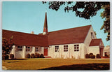 Selbyville DE~Shade Tree~St Martin's in the Field Episcopal Church~Steeple~1950s