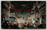 Coney Island New York~Red Devil Rider~Night View~Witching Way~Bowery c1910 PC