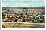 Boulder City Nevada~Housing for Boulder Dam Project Workers~1934 Linen Postcard