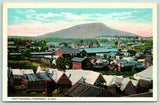 Chattanooga Tennessee~Downtown Civil War Era c1864~Cabin Tents~1915 Postcard
