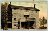 Caledonia NY Masonic Temple~Mrs Kramer Millinery~Gentleman's  Furnishings c1910