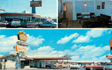 Las Cruces New Mexico~Royal Host Motel & Restaurant~Pancake Alley~Roadside