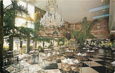 Lauderdale Florida~Creighton's Restaurant and Museum of Antique~Chandelier~1960s
