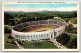 University of Pittsburgh Pennsylvania~New Football Stadium~Game Day~1929 PC