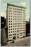 Wheeling West Virginia~Johns~Wertheimers~Horse & Buggy~Schmulback Building~1914