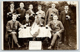 RPPC Germany Club Einingkeil (t?) Unity~Glass Beer Mugs~Officers Ribbons 1908 PC