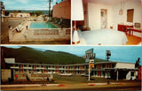 Ukiah California~Holiday Lodge~Best Western Motel~Inside Out~US 101~1950s Cars