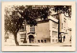 Roswell New Mexico~High School~Close Up from the Side~c1915 Real Photo~RPPC