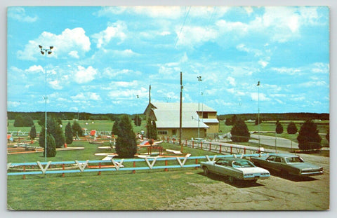 Thomson-Savanna Illinois~Krazy Acres Funland~Miniature Golf Course~1960s Cars
