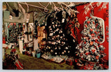 Brooksville Florida~Rogers' Christmas House~Store Interior~Decorated Trees~1960s