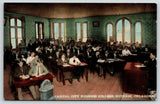 Guthrie Oklahoma~Capital City Business College Interior~Students at Desks~c1908
