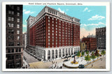 Cincinnati Ohio~Hotel Gibson~Downtown Buildings~Fountain Square~1920 Kraemer Art