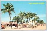 Hollywood by the Sea FL~Beachfront Snack Stands~Red Cross Beach Patrol~1960s