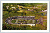 Lafayette Indiana~Purdue Ross-ade Football Stadium~Marching Band Formation~c1940