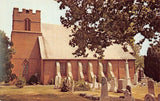 Seaford Delaware~St Luke's Episcopal Church~Grave Yard~Tombstones~1960s PC