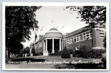Des Moines Iowa~Rotund Portico on Agricultural Building @ State Fair RPPC 1940s