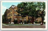 Rocky Mount North Carolina~Arlington Terrace Apartments~Lawn Chairs~1940 Linen