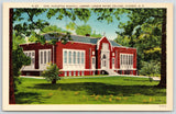Hickory North Carolina~Lenoir Rhyne College~Carl Rudisill Library~1940s Linen PC