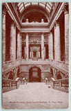 St Paul Minnesota~State Capitol Building Interior~Down Marble Staircase~1909