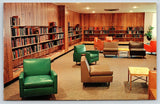 Bowling Green Ohio~State University Student Union~Browsing Room~Vinyl Chairs~'65