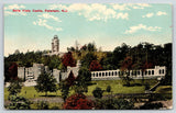 Paterson NJ~Belle Vista Castle~Silk Mill Catholina Lambert Medieval Mansion~1913