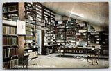 Santa Barbara Mission California~Messy Library Interior~Bookshelves~c1910