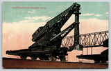 Erie Pennsylvania~Hulett Electric Ore Unloader~Machinery Close Up~c1910 Postcard
