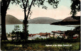 Peekskill New York~Highlands of the Hudson~Houses & Docks~Wharves on Shore~1911