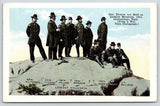 Battle of Lookout Mountain Tennessee~Civil War Time Pic~Generals on Top~1916 PC