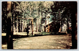 Manhannan Beach CA~Happy Days Resort Cabins~Whitefish Chain of Lakes~1965