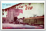 James Peak Continental Divide Colorado~Train Stopped~Moffat Tunnel E Portal~1920