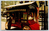 Minneapolis Minnesota~Nicollet Mall Popcorn Lady~Wagon~Price Board 25c~1976 PC