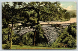 Pittsburg Pennsylvania~Highland Park~Stanton Avenue Drive~Arched Bridge~1909 PC