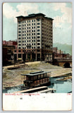 Pittsburgh PA~Bessemer Building~McElveen Furniture~Aurora Houseboat~1912