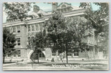 Ypsilanti Michigan~Eastern Michigan University~Science Building~Students~1911